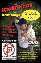 """KRAV MAGA 8 DVD Set"" A Complete Easy to Follow Video Training System - $46.53"