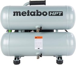 Air Compressor,4-Gallon,Electric,Twin Stack,Portable,Oil Lubricated Pump... - $279.99