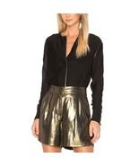 Elizabeth & James | Gold Metallic Paxton Shorts Size 4 - NWT $255 - $86.07
