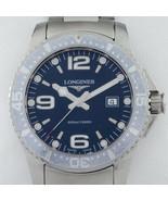 Longines Stainless Steel HydroConquest Men's Quartz Watch L36404 - $772.20
