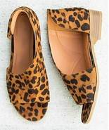 Mata Shoes, Tan Leopard Olivia Sandal, Sz 6 - $15.84