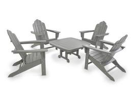 Adirondack 5-Piece Conversation Group in Slate Grey - $2,070.00