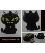 16 GB USB 2.0 Memory Stick Flash Pen Drive Black Cat NWT - $11.99