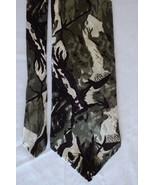 VTG Jay Jacobs Art Deco, Purple, Green, White, Classic Wide 100% Silk Me... - $19.79