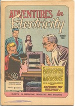 Adventures in Electricity #4 1947-GE-Exposing The Unknown-VG - $50.44