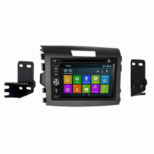DVD CD GPS Navigation Bluetooth Multimedia Radio and Dash Kit for Honda CRV 2015