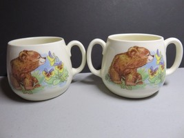 Royal Kent Bone China Child's Double and Singled Handed Bear Cub Design ... - $23.33