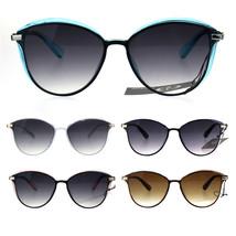 Womens Plastic Designer Fashion Trendy 90s Sunglasses - $9.95