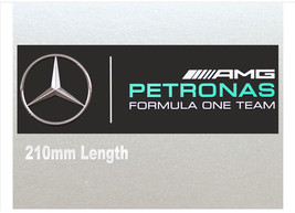 Xtra Large - Mercedes Petronas Formula One (F1) Racing Car Van RC Etc Sticker (2 - $5.49