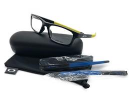 NEW Oakley OX8037-1952 Crosslink Satin Black 52.18.135 Eyeglass Frame - $106.67