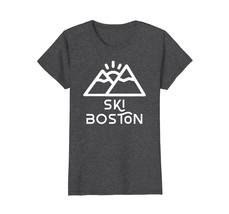 Ski Boston Funny Retro Sports T-Shirt - $19.99+