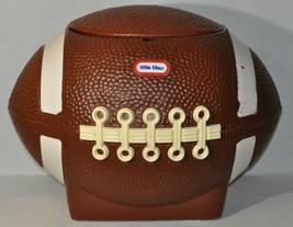 Vintage Little Tikes Football Toy Box Cooler Hamper Tailgate Superbowl 1... - $79.20
