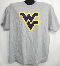 West Virginia Mountaineers Grey Tee Shirt XL - $14.73