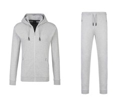 Hugo Boss Men's Athletic Sport TrackSuit Hooded Sweatshirt Jacket & Pants Set