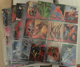 1993 Marvel MASTERPIECE Complete Card Set #1 - 90 NM/M Condition Skybox - $20.69
