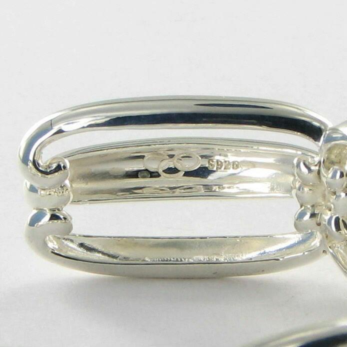 Links of London Night Time Garden Bracelet Cuff Sterling 5012.0369 New $595