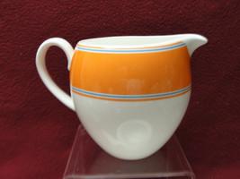 Kate Spade For Lenox China - Cays Stripe Pattern (Orange Band) - Creamer - $19.95