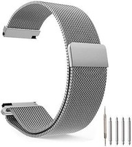Top Plaza Fully Magnetic Closure Clasp Mesh Loop Milanese Stainless Ste... - $33.37