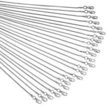 24pcs Chains for Jewelry Making 20 inch 925 Sterling Silver Plated 1.2mm DIY - $20.53