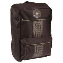 "Billionaire Mafia Large 20"" Brown BM Insignia Backpack School Book Overnight Bag"