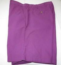 "Tommy Hilfiger 9"" Inseam Shorts 517 Grape 78B9011 Mens 36 Waist $45.00 N... - $34.65"