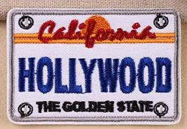 "Hollywood California Embroidered Iron-On Patch Size 2 3/4 x 2"" - $5.89"