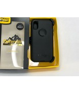 OtterBox Defender screenless belt clip holster Case for iPhone Xs X -Black - $23.36