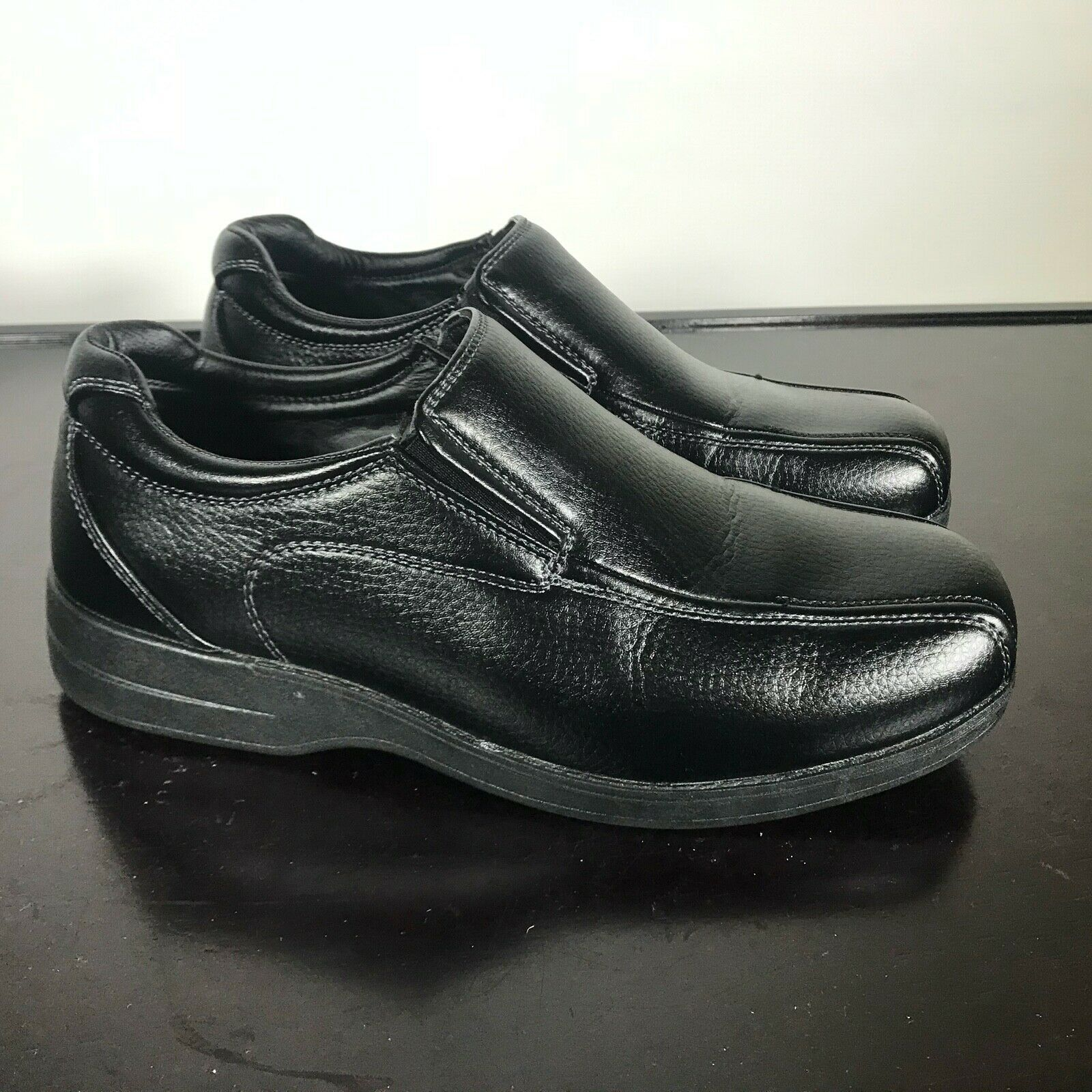 Primary image for Goodyear Logan Casual Men's Footwear Shoes Size 7.5W (Wide). Black. Worn Once
