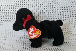 44b14e4e514 Ty Original Beanie Babies Retired GiGi the Black Poodle Dog April 7