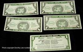 Esso Oil Tiger Lucky Tiger Money Lot 1966 advertising - $14.99