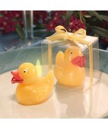 Yellow Duck Candle In Clear Box : package of 12 - $78.95