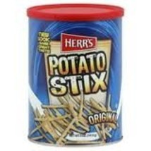 Herr's Potato Stix Original Potato Sticks (Two 5 Oz Cans) - $12.86