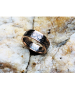 Canadian large cent Coin Ring. Handcrafted Bronze, 1901-1920. Size 6-11 - £24.08 GBP
