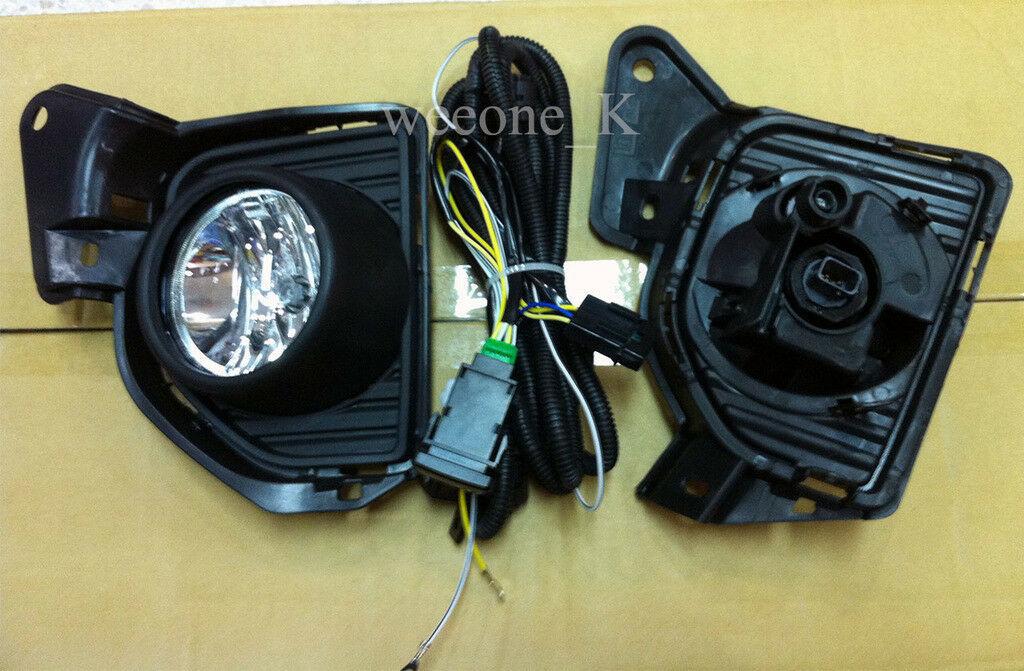 SPOT FOG LIGHT LAMP KIT BLACK COVER FOR TOYOTA HIACE COMMUTER 2014 2015 - 2018