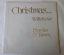 """Christmas with Love From Jim and Tammy Baker PTL 12"""" Vinyl Record LP - $13.36"""
