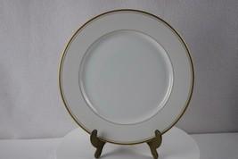 "Fitz & Floyd Palais White Dinner Plate 10 3/8"" - $20.00"