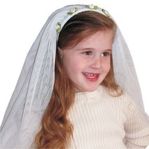 Kids Adorable White Bride Veil By Dress Up America - $29.81
