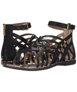 Sam Edelman Gardener Gladiator Sandal, Sizes 5-9.5 Black Leather E2533L3001 - $59.97