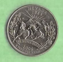 2006 D Nevada State Quarter - Near uncirculated - $1.25