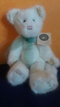 Vintage Boyds Bears Plush White Cat Tessa Fluffypaws Jointed Original Tag  - $18.69