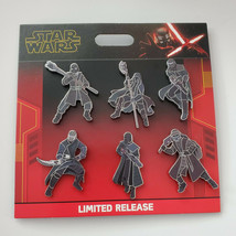 NWT Disney Parks Star Wars Knights of Ren 6-Pin Booster Set Limited Release - $24.70