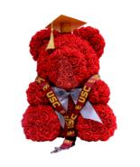 Graduation Red Rose Bear Cap & Tassel w/ FREE USC Lanyard Class of 2019 ... - $158.39