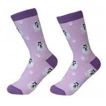 Maltese Socks Unisex Dog Cotton/Poly One size fits most - $11.99