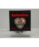 Vintage Ballantine Beer & Ale sign with color wheel    - $93.50