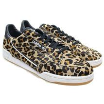 Adidas Originals Continental 80 Mens Leopard Core Pony Hair Sneakers 14 ... - $74.24