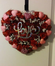 Hand Made Heart Wreath - $25.00
