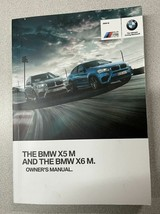 2016 BMW X5 M X6 M Owner Owners Operators Manual OEM  - $79.19