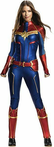 Rubiesl Grand Heritage Captain Marvel Erwachsene Damen Halloween Kostüm 701058