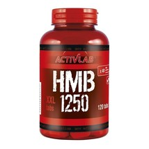 HMB XXL 1250mg x 120 tablets (beta-hydroxy beta-metylobutyrate) - $16.32