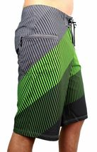 NEW DC SHOES MEN'S PREMIUM BOARD SHORTS SURF TRUNKS SWIMWEAR 4 WAY STRETCH GREEN image 3